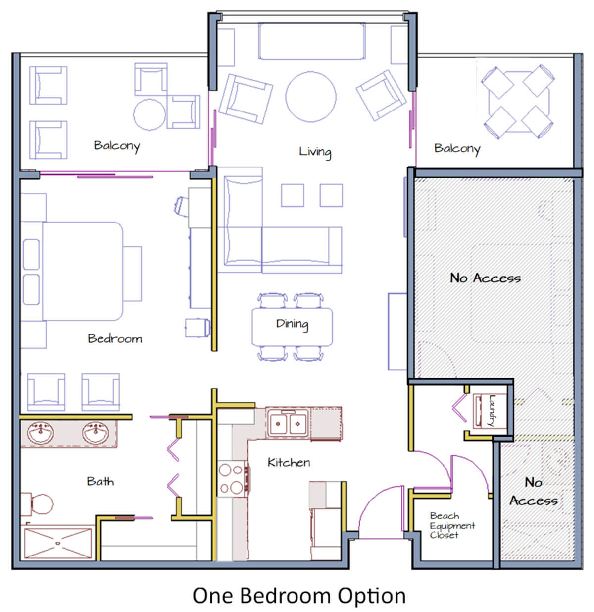 Two Bedroom Option